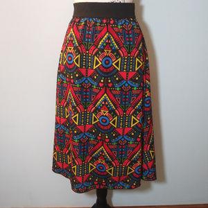 Lularoe Colorful Geometrical Shape Skirt